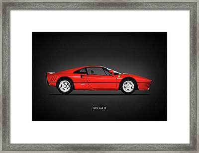 Ferrari 288 Gto Framed Print by Mark Rogan