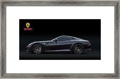 Ferrari 599 Gtb Fiorano Framed Print by Douglas Pittman