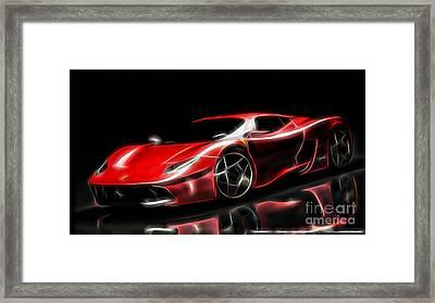 Ferrari Collection Framed Print by Marvin Blaine