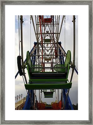Ferris Wheel Framed Print by Anne Babineau