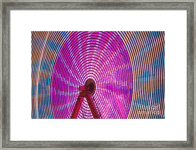 Ferris Wheel I Framed Print by Clarence Holmes
