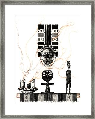 Fertility Framed Print by Anthony Burks Sr