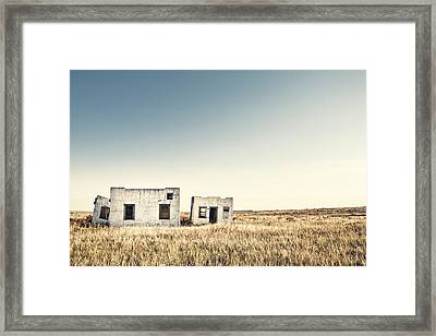 Few And Far Between Framed Print by Humboldt Street
