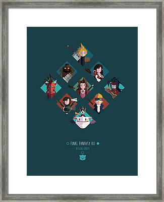 Ff Design Series Framed Print by Michael Myers
