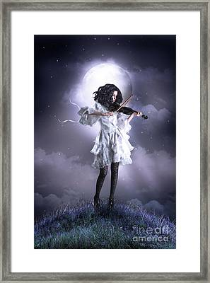 Fiddler's Green Framed Print by Shanina Conway