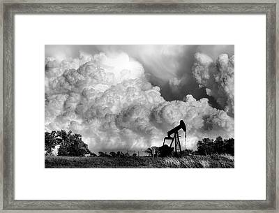 Field Of Nightmares  Framed Print by Karen M Scovill