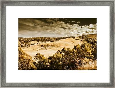 Fields Of Jericho Framed Print by Jorgo Photography - Wall Art Gallery