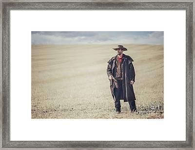 Fields Of Yesterday Framed Print by Evelina Kremsdorf