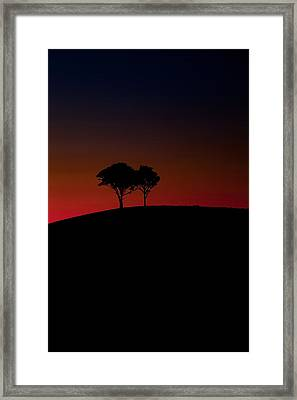 Dancing In The Dark Framed Print by Az Jackson