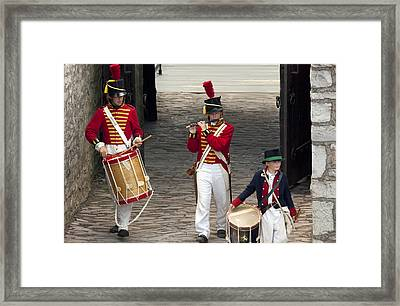 Fife And Drum Framed Print by Peter Chilelli