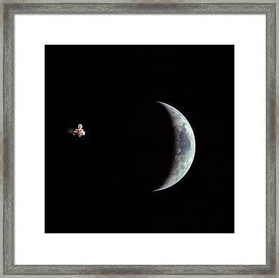Fifi In Space Framed Print by Michael Ledray