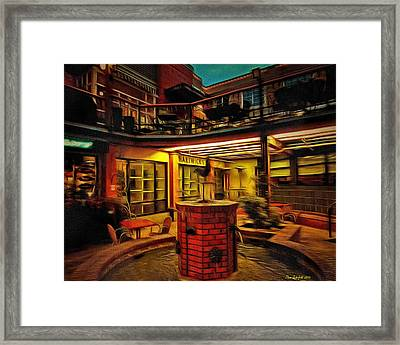 Fifth Street Public Market Framed Print by Thom Zehrfeld