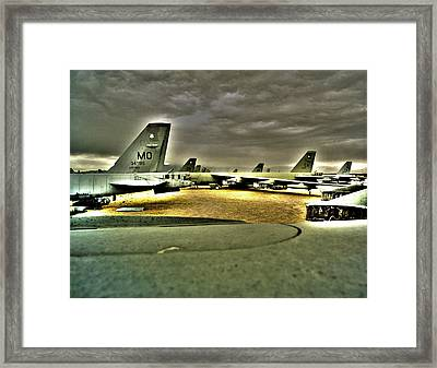 Fifty 52d Aircraft Framed Print by Jan W Faul