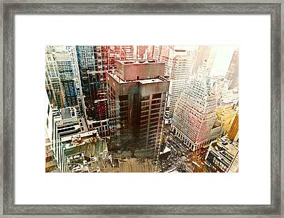 Fifty Four Framed Print by Diana Angstadt