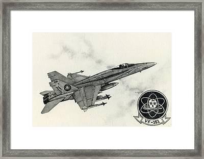 Fighting Vigilantes Framed Print by Mark Jennings
