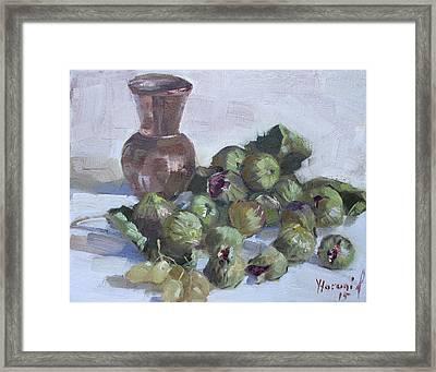 Figs Framed Print by Ylli Haruni