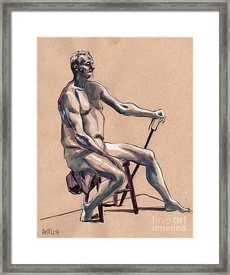 Figure #369 Framed Print by Jason Axtell