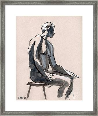 Figure 394 Framed Print by Jason Axtell