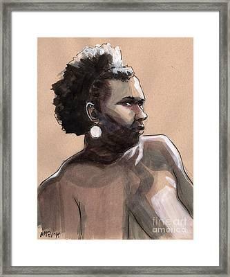 Figure #396 Framed Print by Jason Axtell