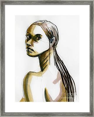 Figure #400 Framed Print by Jason Axtell