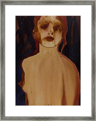 Figure Framed Print by Graham Dean