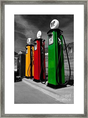 Fill Her Up Framed Print by Rob Hawkins