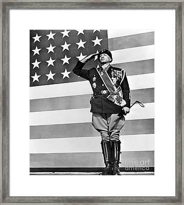 Film: Patton, 1970 Framed Print by Granger