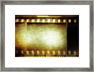 Filmstrip Framed Print by Les Cunliffe
