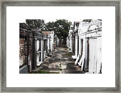 Final Destination Framed Print by John Rizzuto