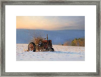 Final Resting Place Framed Print by Lori Deiter