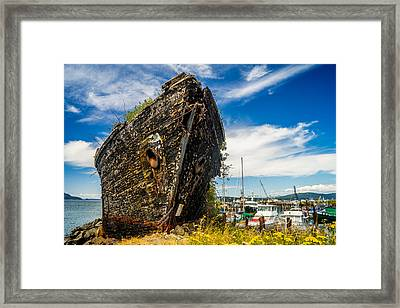 Final Resting Place Framed Print by TL  Mair