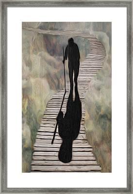 Final Walk Framed Print by Jack Zulli
