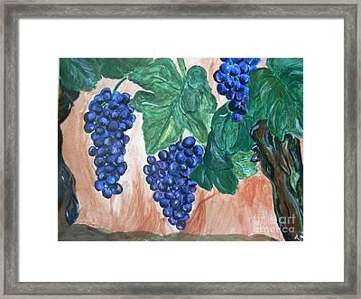 Finally Time For Wine Framed Print by Tobi Cooper