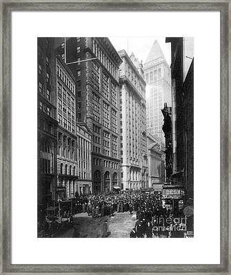 Financial Center, C1920 Framed Print by Granger