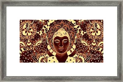 Finding Peace 3 Framed Print by Helena Tiainen