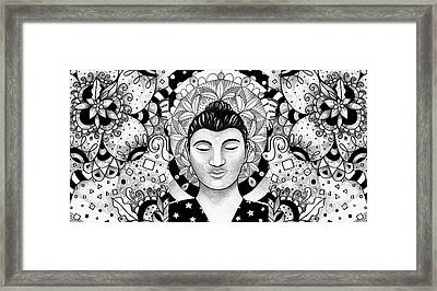 Finding Peace Framed Print by Helena Tiainen