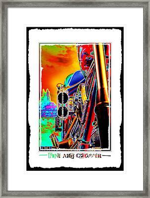 Fine Art Chopper I Framed Print by Mike McGlothlen