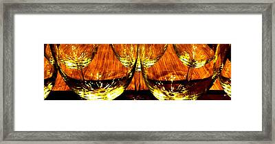 Fine Wine And Dine 3 Framed Print by Will Borden