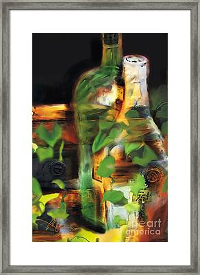 Fine Wine Framed Print by Bob Salo