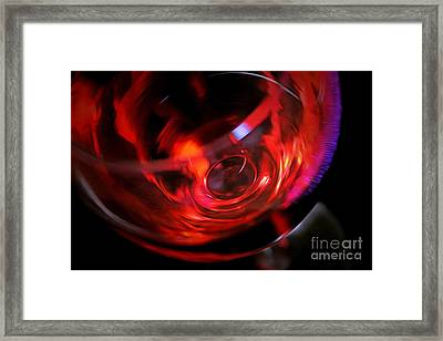 Fine Wine Framed Print by Krissy Katsimbras
