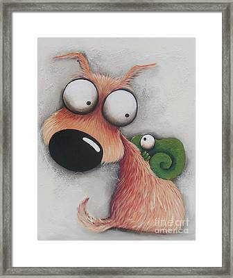 Finesse, You Have It Framed Print by Lucia Stewart