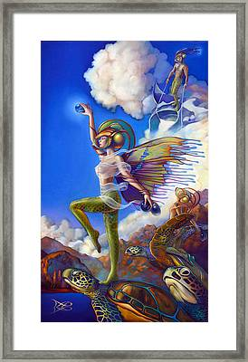Finfaerian Quest Framed Print by Patrick Anthony Pierson