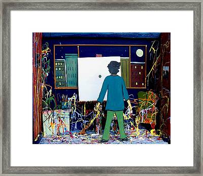 Finished Framed Print by Richard  Hubal