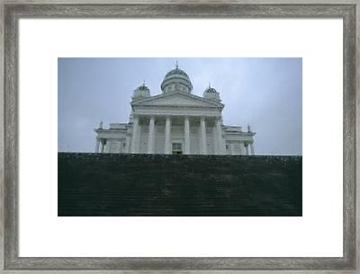 Finland, Helsinki, Helsinki Cathedral Framed Print by Keenpress