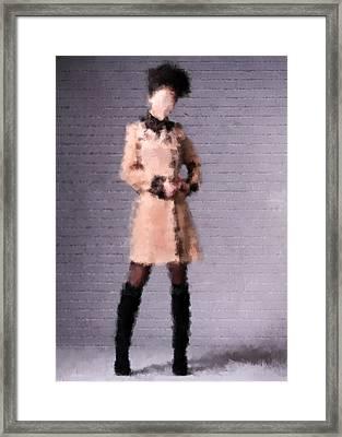 Fiona Framed Print by Nancy Levan