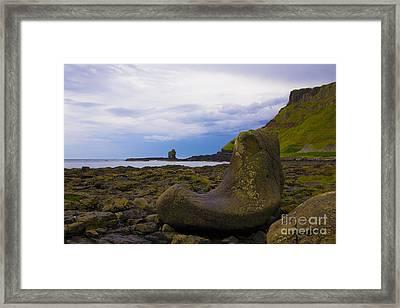 Fionn Mac Cumhaill's Boot Framed Print by Alexander Wilson