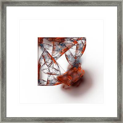 Fire And Ice Framed Print by Mark Bowden