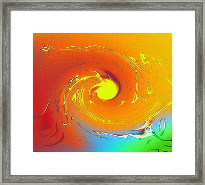 Fire And Water Framed Print by Stefan Kuhn