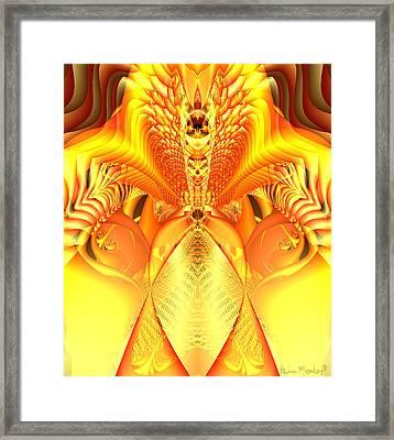 Fire Goddess Framed Print by Gina Lee Manley