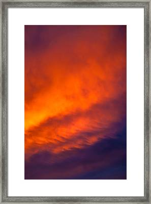 Fire In The Belly Framed Print by Az Jackson